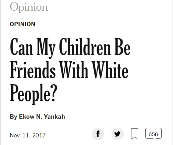 friendship is racist