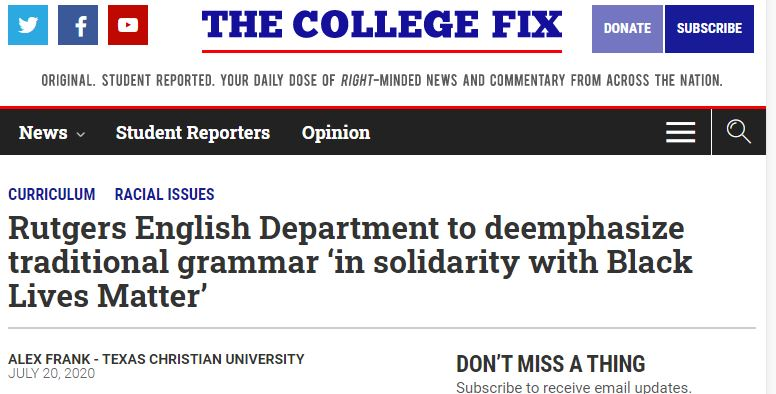 grammar is racist