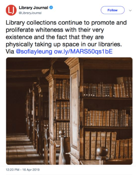 libraries is racist