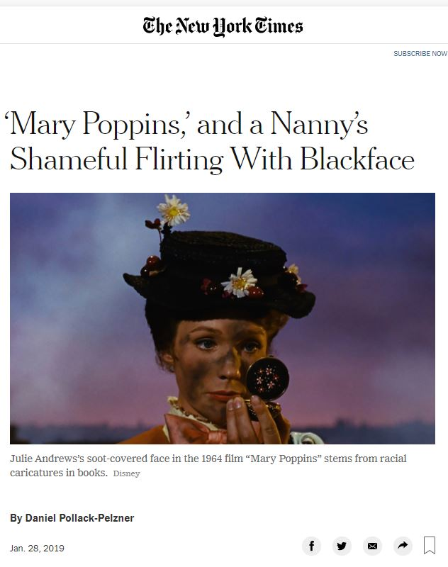 mary poppins is racist