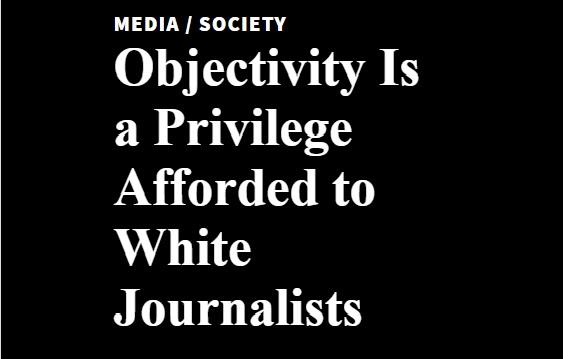 objectivity is white privilege