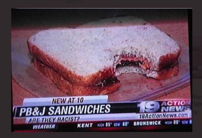 sandwiches is racist