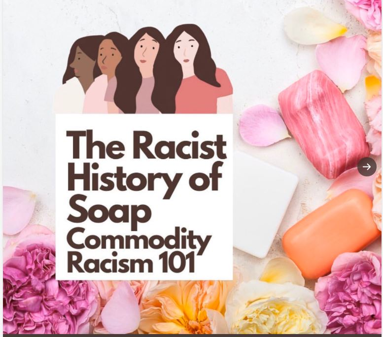 soap is racist