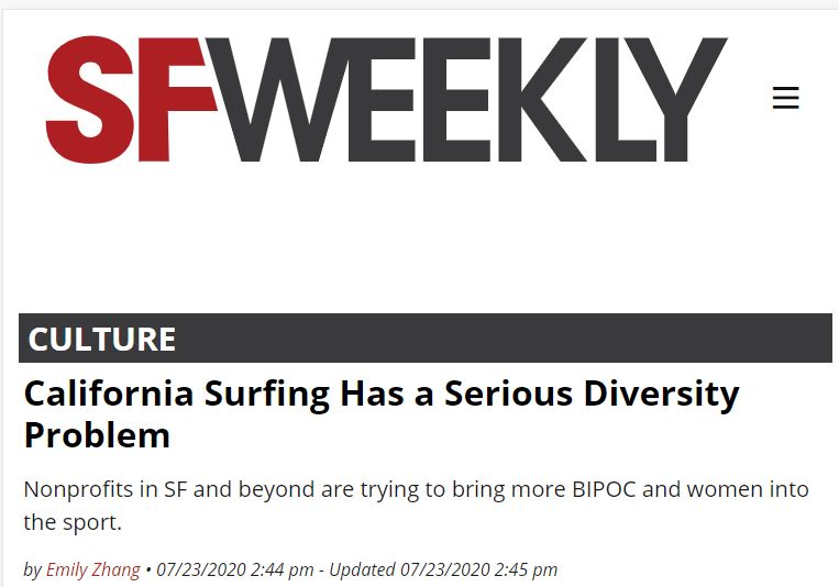 surfing is racist