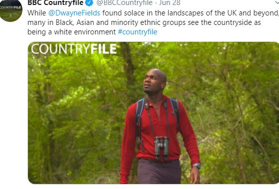 the countryside is racist