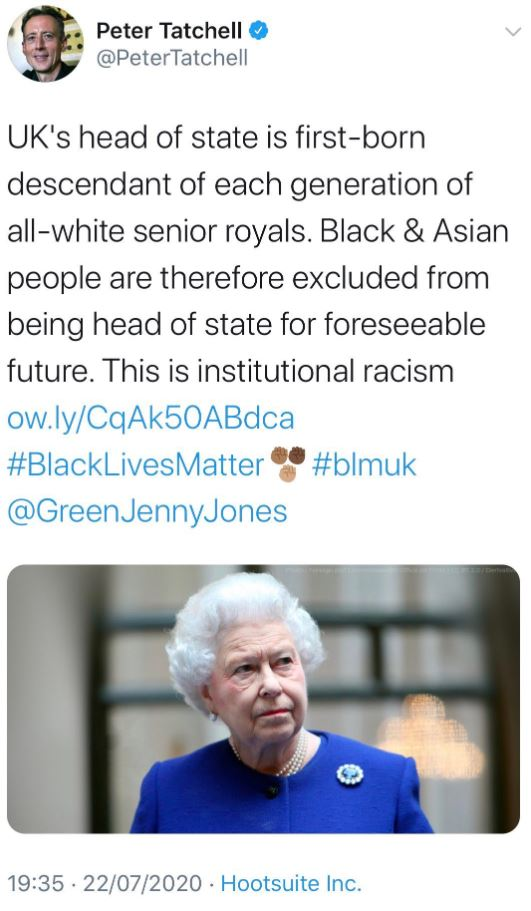 the royal family is racist
